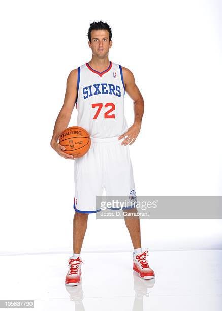 Jason Kapono of the Philadelphia 76ers poses for a photo during Media Day on September 27 2010 at the Wells Fargo Center in Philadelphia Pennsylvania...