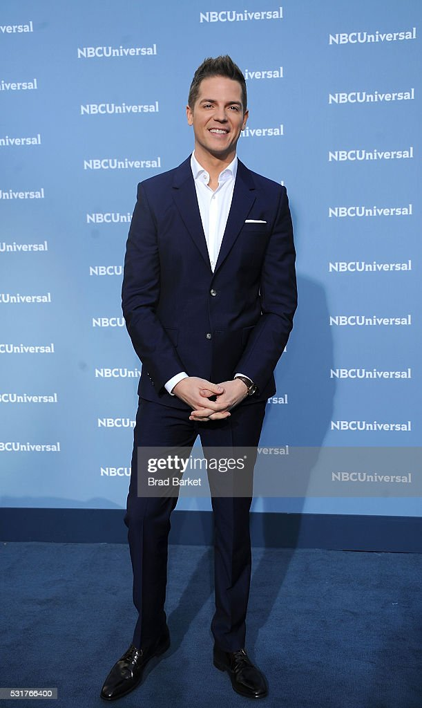 Jason Kennedy attends the NBCUniversal 2016 Upfront Presentation on May 16, 2016 in New York City.