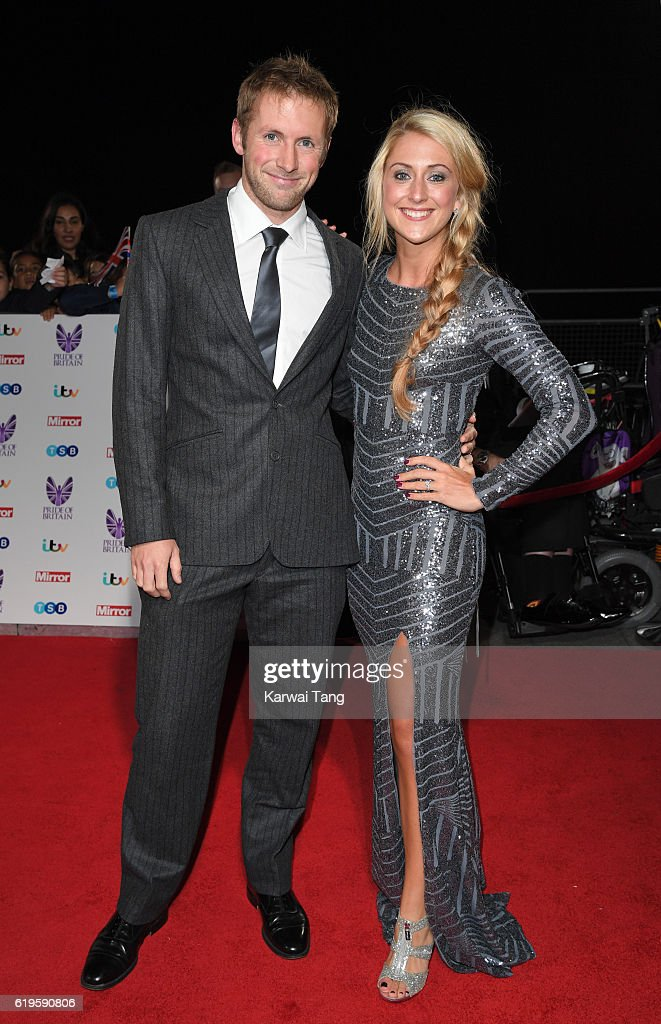 Jason Kenny and Laura Trott attend the Pride Of Britain Awards at The Grosvenor House Hotel on October 31, 2016 in London, England.