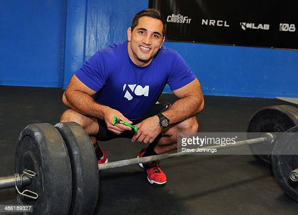 Jason Khalipa National CrossFit Champion partners with the Gillette BODY razor to help guys get #BODYREADY for summer at NorCal CrossFit on April 22...