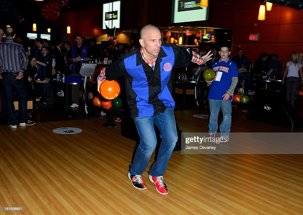 <a gi-track='captionPersonalityLinkClicked' href=/galleries/search?phrase=Jason+Kidd&family=editorial&specificpeople=201560 ng-click='$event.stopPropagation()'>Jason Kidd</a> attends the 14th Annual Knicks Bowl at Chelsea Piers on February 11, 2013 in New York City.