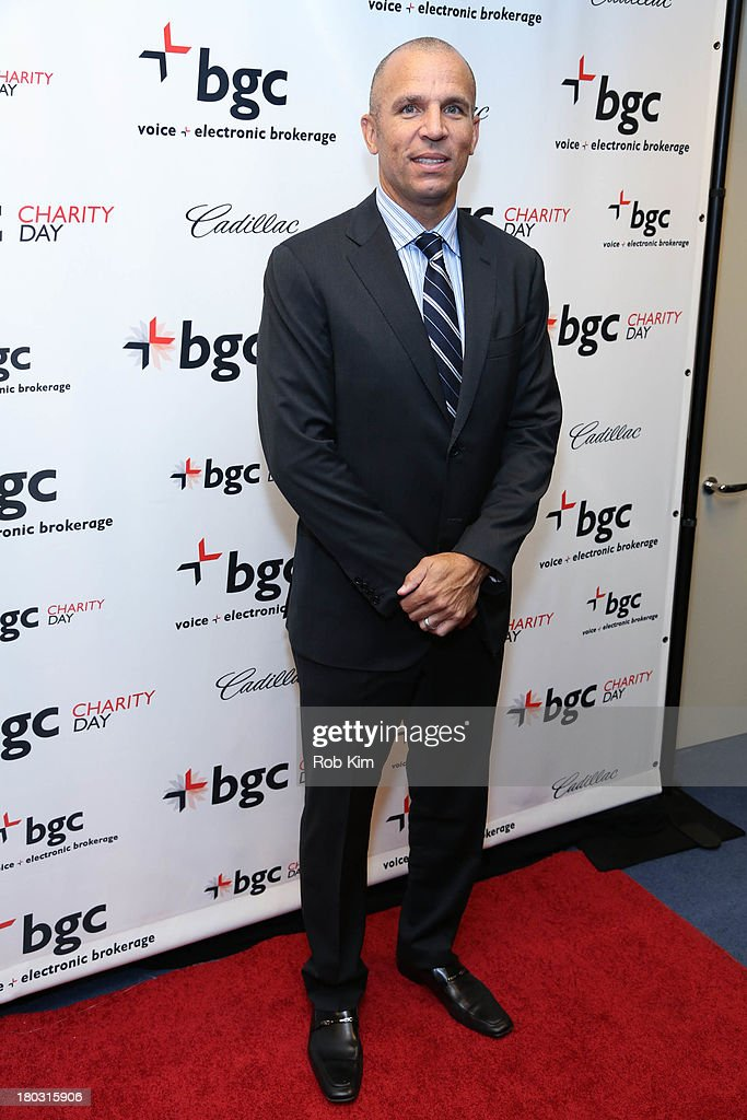 Jason Kidd attends the 2013 Cantor Fitzgerald And BGC Partners Charity Day at BGC Partners on September 11, 2013 in New York City.