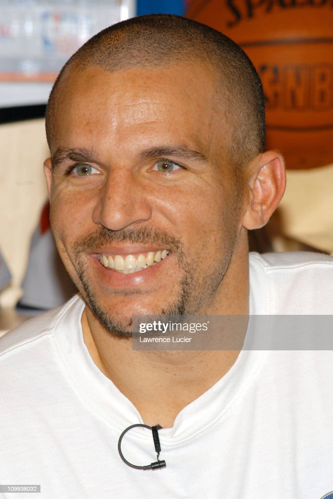 Jason Kidd Appears At The 5th Anniversary Of The NBA Store