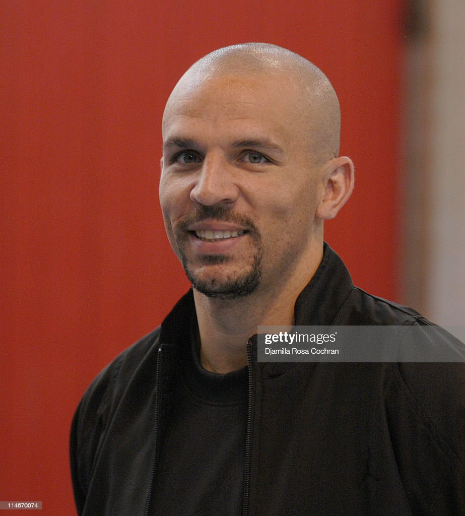Jason Kidd during Jason Kidd Hosts The Jordan Basketball Clinic at The Children's Aid Society at Children's Aid Society Dunlevy Milbank in New York City, New York, United States.