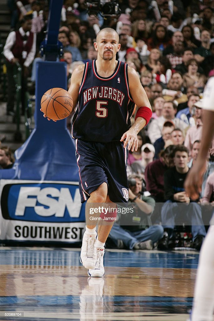 ... on January Jason Kidd 5 of the New Jersey Nets brings the ball upcourt  during the game ... daad9bf54