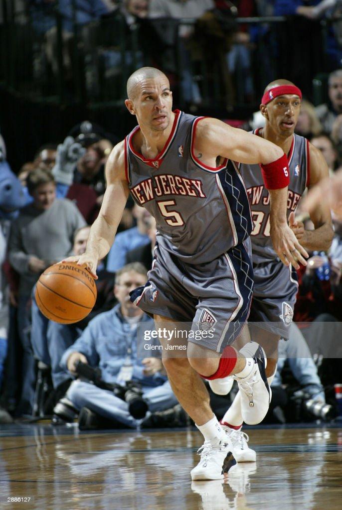 fa55a3aae21c ... Jason Kidd 5 of the New Jersey Nets drives against the Dallas Mavericks  on January ...
