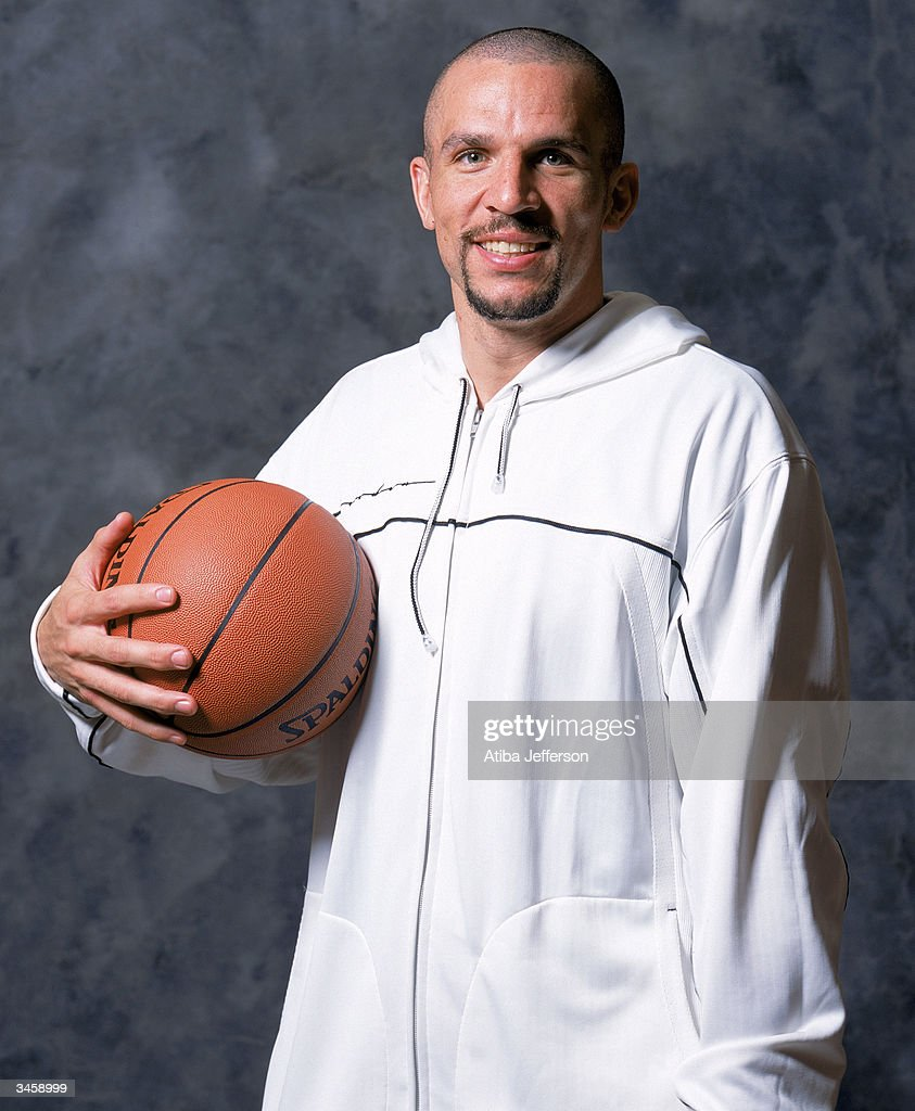 Jason Kidd of the New Jersey Nets poses for a portrait during the 2004 NBA All-Star Weekend on February 13, 2004 in Los Angeles, California.