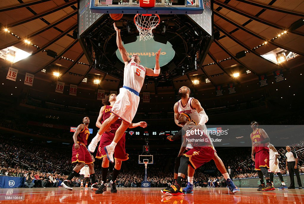 <a gi-track='captionPersonalityLinkClicked' href=/galleries/search?phrase=Jason+Kidd&family=editorial&specificpeople=201560 ng-click='$event.stopPropagation()'>Jason Kidd</a> #5 of the New York Knicks goes to the basket against the Cleveland Cavaliers during game on December 15, 2012 at Madison Square Garden in New York City.