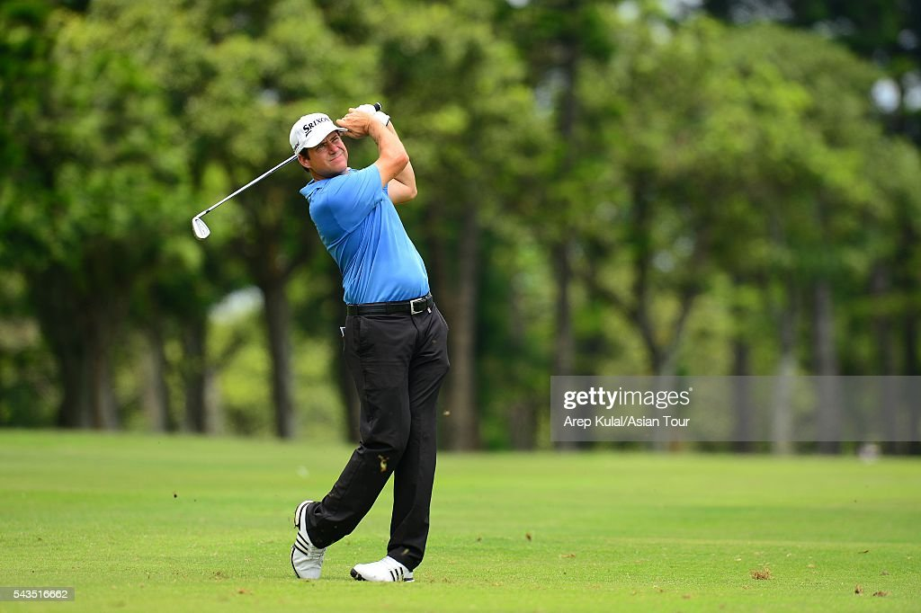 Jason Knutzon of USA pictured during the ProAM tournament ahead of Yeangder Tournament Players Championship at Linkou International Golf Club on June 29, 2016 in Taipei, Taiwan.