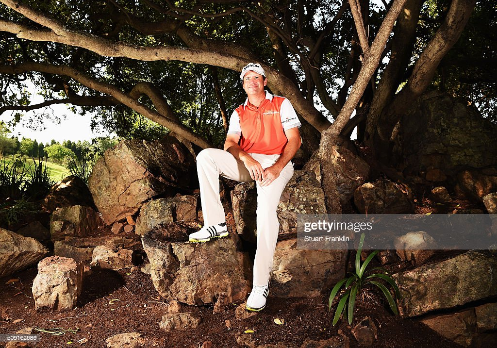Jason Knutzon of USA poses for a picture prior to the start of the Tshwane Open at Pretoria Country Club on February 09, 2016 in Pretoria, South Africa.