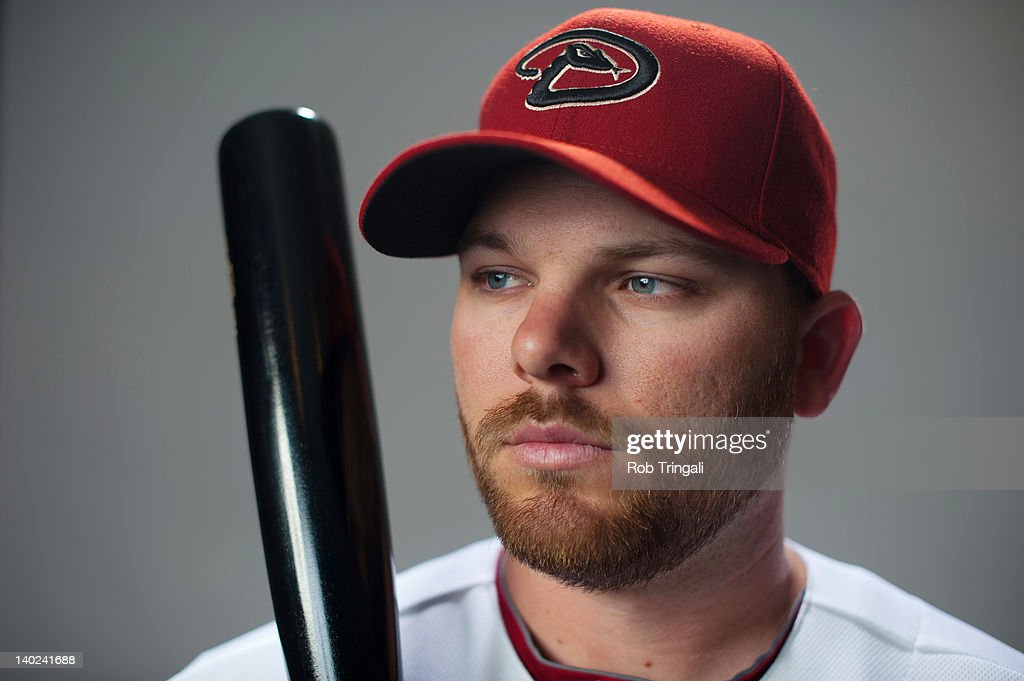 Jason Kubel #13 of the Arizona Diamondbacks poses during photo day at Salt River Fields at Talking Stick on March 1, 2012 in Scottsdale, Arizona.