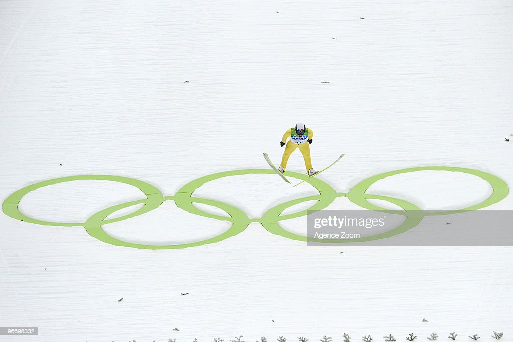 Jason Lamy Chappuis of France takes Gold medal during the Nordic Combined Individual NH/10km on Day 3 of the 2010 Vancouver Winter Olympic Games on February 14, 2010 in Whistler Olympic Park, Canada.