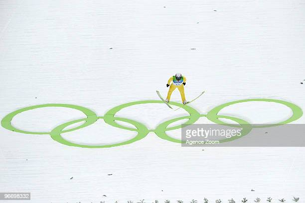 Jason Lamy Chappuis of France takes Gold medal during the Nordic Combined Individual NH/10km on Day 3 of the 2010 Vancouver Winter Olympic Games on...