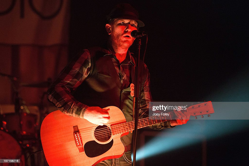 Jason Lancaster of Go Radio performs live onstage at The Irving Theater on November 28, 2012 in Indianapolis, Indiana.