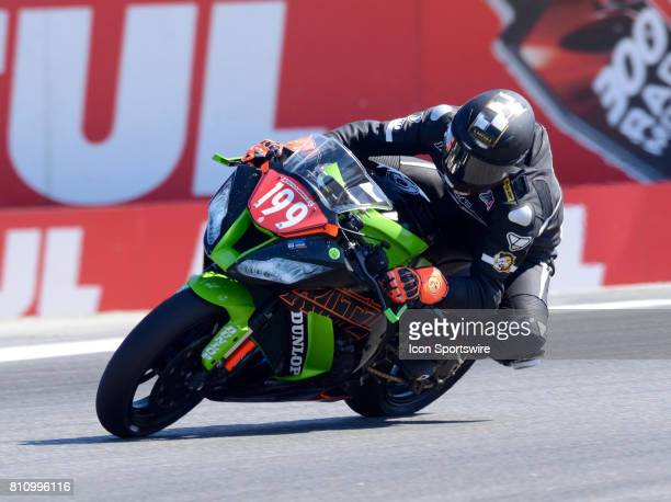 Jason Lauritzen Kawasaki ZX10R Ritz Racing on the track during the practice and pole qualifying sessions at the SBK/MOTUL FIM Superbike World...
