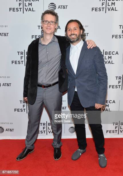 Jason Leary and Director Kasra Farahani attends the 'Tilt' Premiere during 2017 Tribeca Film Festival at Cinepolis Chelsea on April 22 2017 in New...