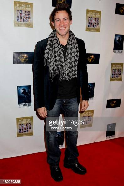 Jason Lockhart attends the 'Not Another Celebrity Movie' Los Angeles premiere at Pacific Design Center on January 17 2013 in West Hollywood California