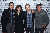 Jason London Parker Posey Anthony Rapp and Richard Linklater attend the Dazed and Confused 20th Anniversary cast reunion screening during the 51st...
