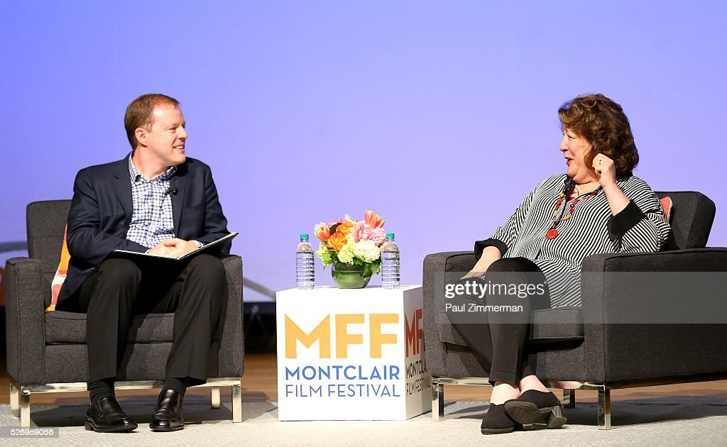 Jason Lynch (L) and Margo Martindale speak onstage at the Montclair Film Festival 2016 - Day 3 Conversations at the Montclair Film Festival 2016 - Day 3 Conversations at Montclair Kimberly Academy on May 1, 2016 in Montclair, New Jersey.