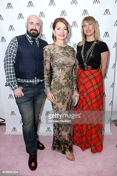 Jason Lyon Jean Shafiroff and Bridgette Morphew attend Jean Shafiroff and Morphew host Fashion Event at Holiday House to benefit the Breast Cancer...
