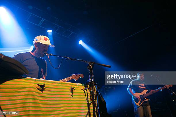 Jason Lytle and Kevin Garcia of Grandaddy performs at Vicar Street on August 18 2016 in Dublin Ireland