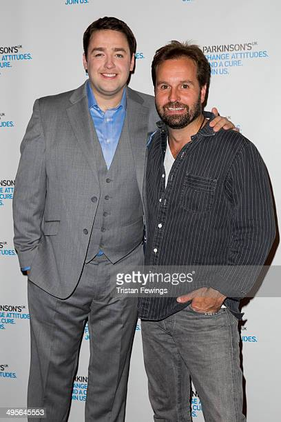 Jason Manford and Alfie Boe attend the Symfunny fundraiser in aid of Parkinson's UK at Royal Albert Hall on June 4 2014 in London England