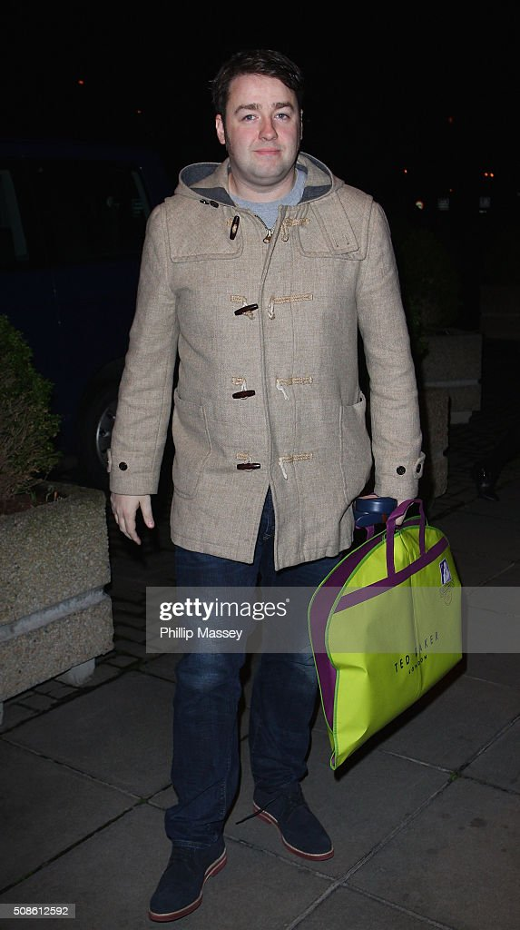 Jason Manford attends the Late Late Show on February 5, 2016 in Dublin, Ireland.