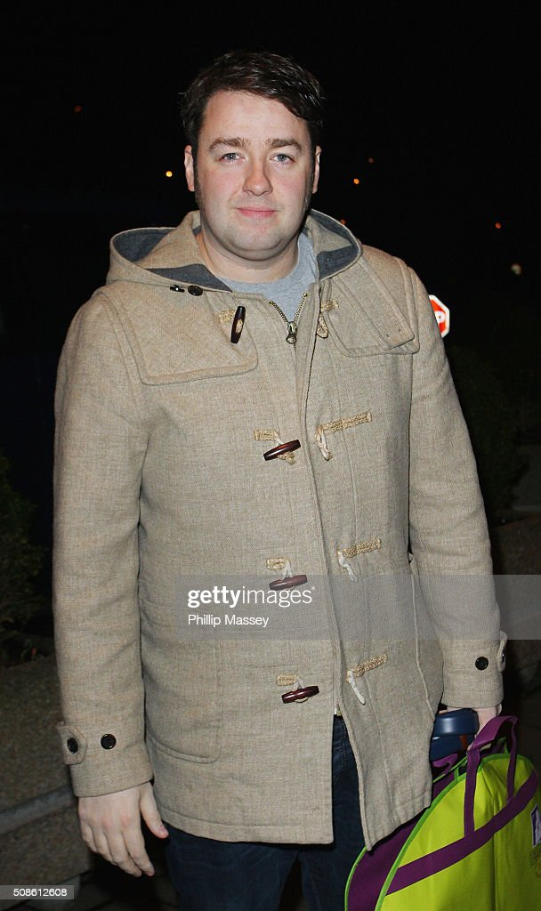 <a gi-track='captionPersonalityLinkClicked' href=/galleries/search?phrase=Jason+Manford&family=editorial&specificpeople=4689576 ng-click='$event.stopPropagation()'>Jason Manford</a> attends the Late Late Show on February 5, 2016 in Dublin, Ireland.