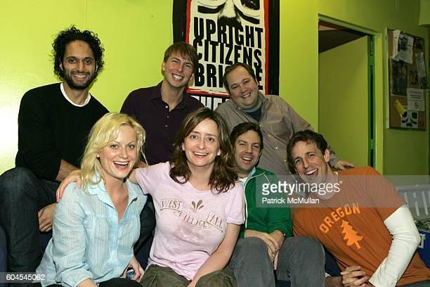 Jason Mantzoukas Amy Poehler Jack McBrayer Rachel Dratch Jason Sudeikis John Lutz and Seth Meyers attend Upright Citizens Brigade Theatre and Young...