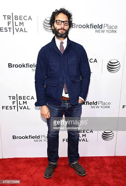 Jason Mantzoukas attends the premiere of 'Sleeping With Other People' during the 2015 Tribeca Film Festival at BMCC Tribeca PAC on April 21 2015 in...