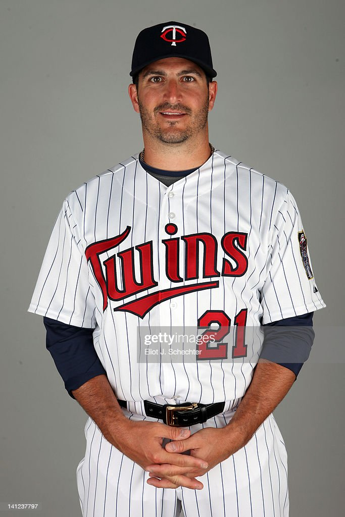 <a gi-track='captionPersonalityLinkClicked' href=/galleries/search?phrase=Jason+Marquis&family=editorial&specificpeople=210770 ng-click='$event.stopPropagation()'>Jason Marquis</a> (21) of the Minnesota Twins poses during Photo Day on Monday, February 27, 2012 at Hammond Stadium in Fort Myers, Florida.