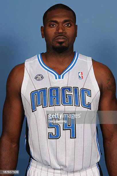 Jason Maxiell of the Orlando Magic poses for a picture during Media Day on September 30 2013 at Amway Center in Orlando Florida NOTE TO USER User...