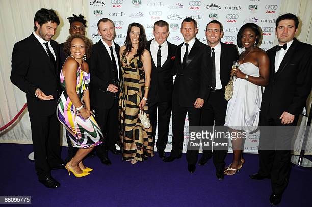 Jason Milligan Angela Griffin John Simms Kate McGowan Max Beesley Ryan Giggs Will Mellor Michelle Mellor and Tom Chambers attend the 5 Stars Scanner...