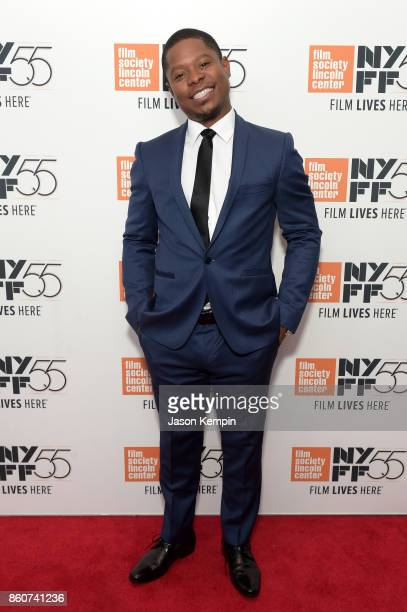 Jason Mitchell attends the 55th New York Film Festival screening of 'Mudbound' at Alice Tully Hall in New York on October 12 2017