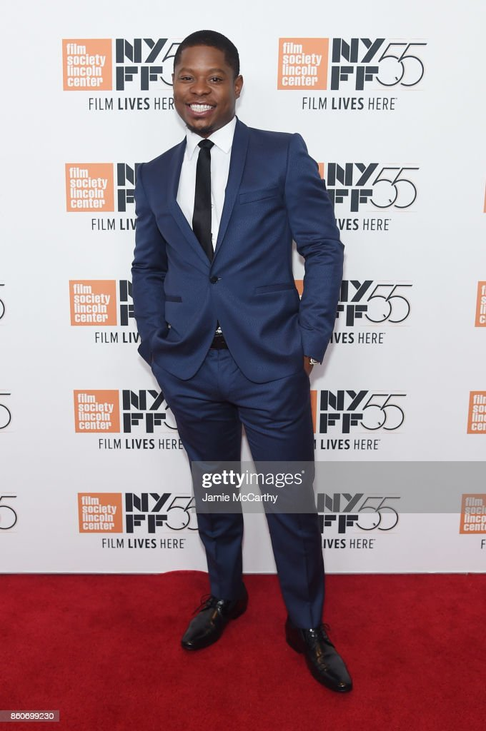 Jason Mitchell attends the 'Mudbound' premiere during the 55th New York Film Festival at Alice Tully Hall on October 12, 2017 in New York City.