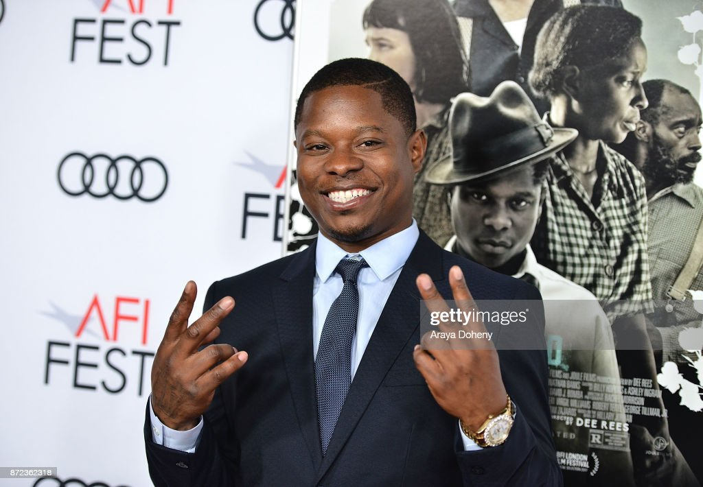 Jason Mitchell attends the screening of Netflix's 'Mudbound' at the Opening Night Gala of AFI FEST 2017 presented by Audi at TCL Chinese Theatre on November 9, 2017 in Hollywood, California.