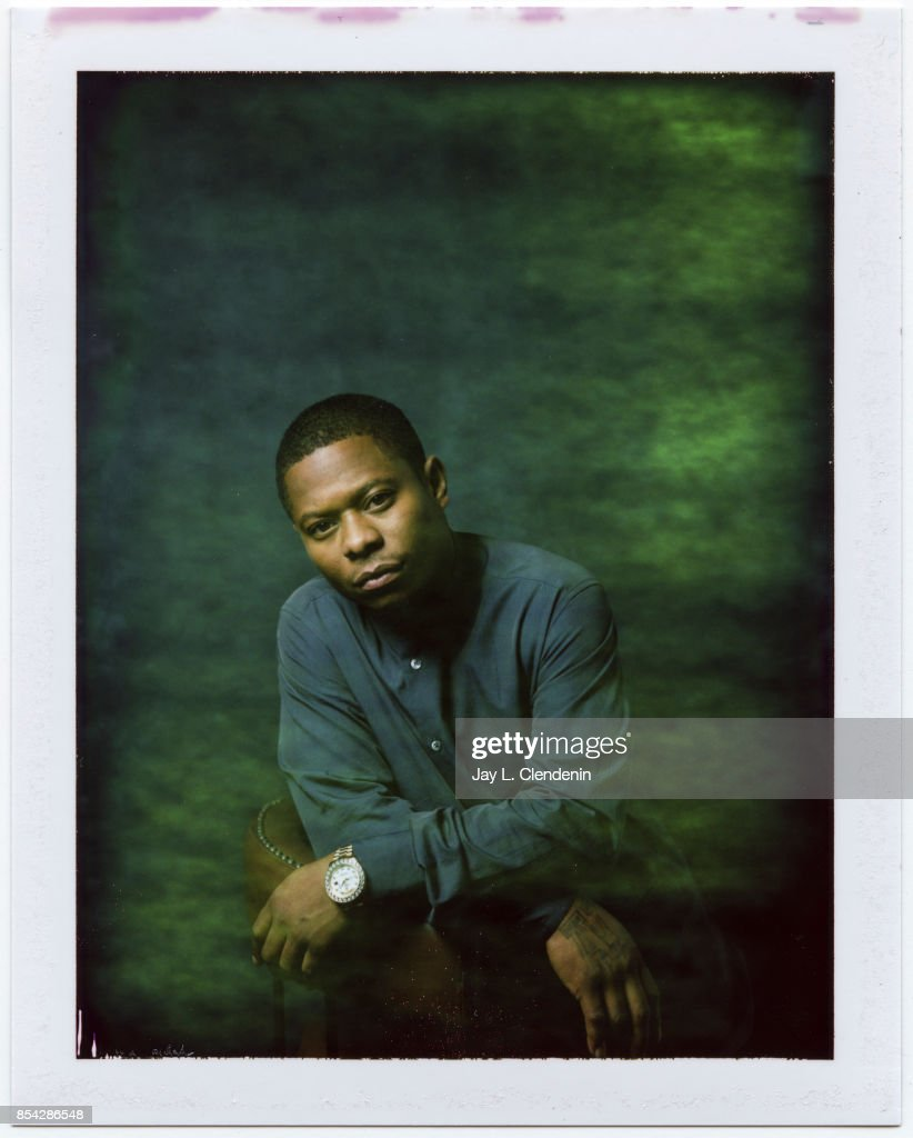 Jason Mitchell from the film 'Mudbound,' is photographed on polaroid film at the L.A. Times HQ at the 42nd Toronto International Film Festival, in Toronto, Ontario, Canada, on September 12, 2017.
