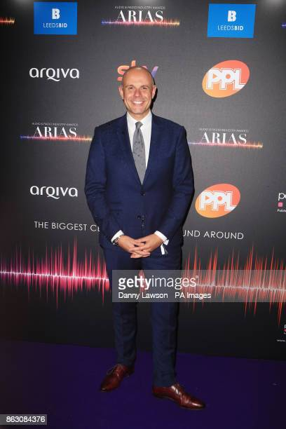 Jason Mohammad attending the Audio and Radio Industry Awards at the First Direct Arena in Leeds