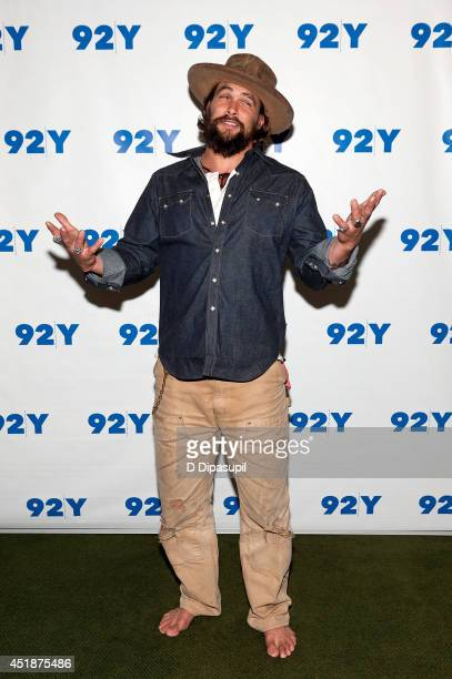 Jason Momoa attends an evening with Jason Momoa and Thelma Adams at 92nd Street Y on July 8 2014 in New York City