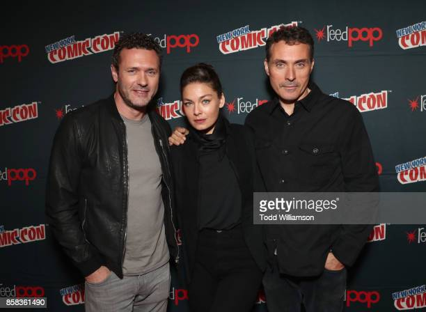 Jason O'Mara Alexa Davalos and Rufus Sewell attend 'The World of Philip K Dick' The Man in the High Castle and Philip K Dick's Electric Dreams Panel...