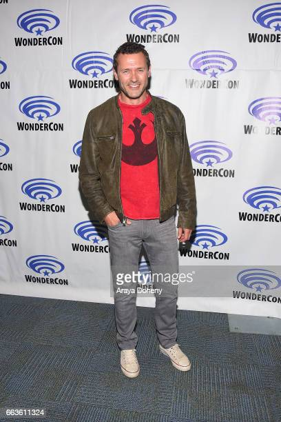 Jason O'Mara attends the 'Agents of SHIELD' press panel at day two of WonderCon 2017 the at Anaheim Convention Center on April 1 2017 in Anaheim...