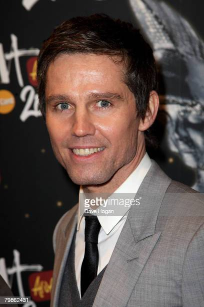 Jason Orange arrives at the BRIT Awards 2008 at Earls Court 1 on February 20 2008 in London England