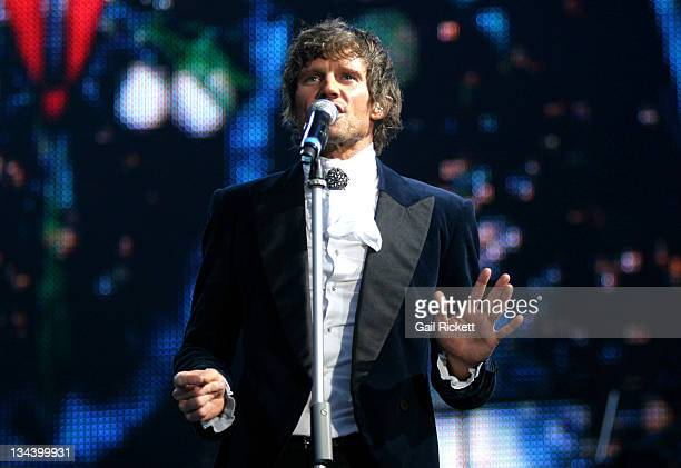 Jason Orange during Take That Concert at the City of Manchester Stadium June 17 2006 at City of Manchester Stadium in Manchester Great Britain