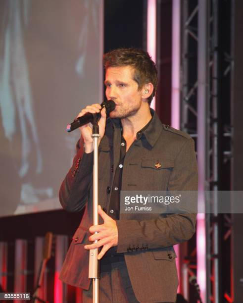 Jason Orange of Take That performs at the Music Industry Trusts' Awards held at the Grosvenor House Hotel Park Lane on November 3 2008 in London...