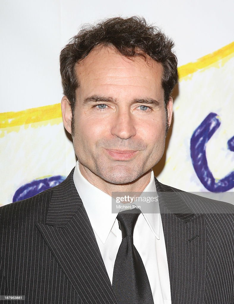 <a gi-track='captionPersonalityLinkClicked' href=/galleries/search?phrase=Jason+Patric&family=editorial&specificpeople=668112 ng-click='$event.stopPropagation()'>Jason Patric</a> arrives at the 'Stand Up For Gus' benefit event held at Bootsy Bellows on November 13, 2013 in West Hollywood, California.