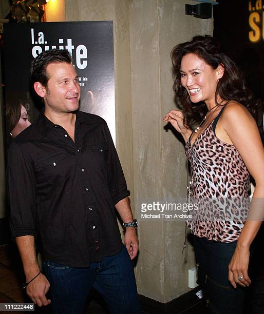 Jason Pomeranc President and CEO of Thompson Media Group and Tia Carrere