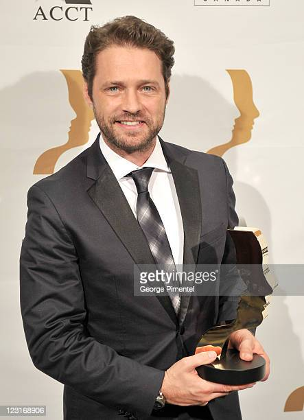 Jason Priestley attends the 26th Annual Gemini Awards Industry Gala at the Metro Toronto Convention Centre on August 31 2011 in Toronto Canada