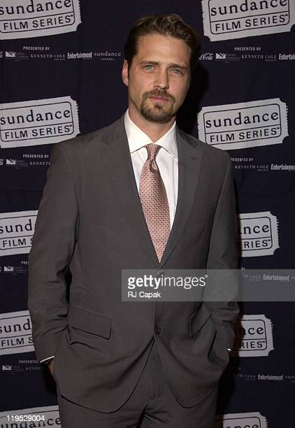 Jason Priestley during 'Die Mommie Die' New York Premiere at Loew's 34th Street in New York City New York United States