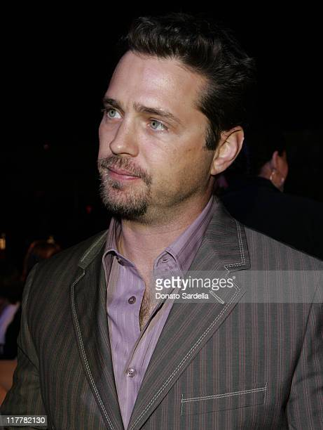 Jason Priestley during Hugo Boss Fall Winter 2005 Men's and Women's Collections Party Inside at Beverly Hills Hotel in Beverly Hills California...