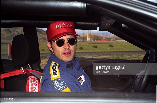 Jason Priestley during Priestley in Racing School '95 in Willow Springs CA
